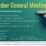 September Genral Meeting